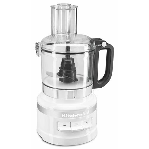 KitchenAid - 7 Cup Food Processor - White