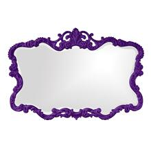 View Product - Talida Mirror - Glossy Royal Purple