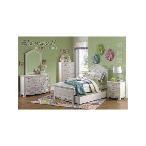 Elements - Chloe Twin Panel Bed