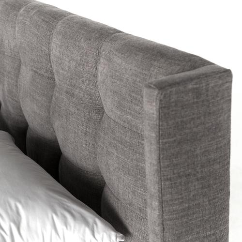Queen Size Harbor Grey Cover Newhall Bed