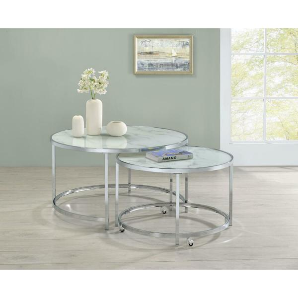 See Details - 2 PC Nesting Table Set