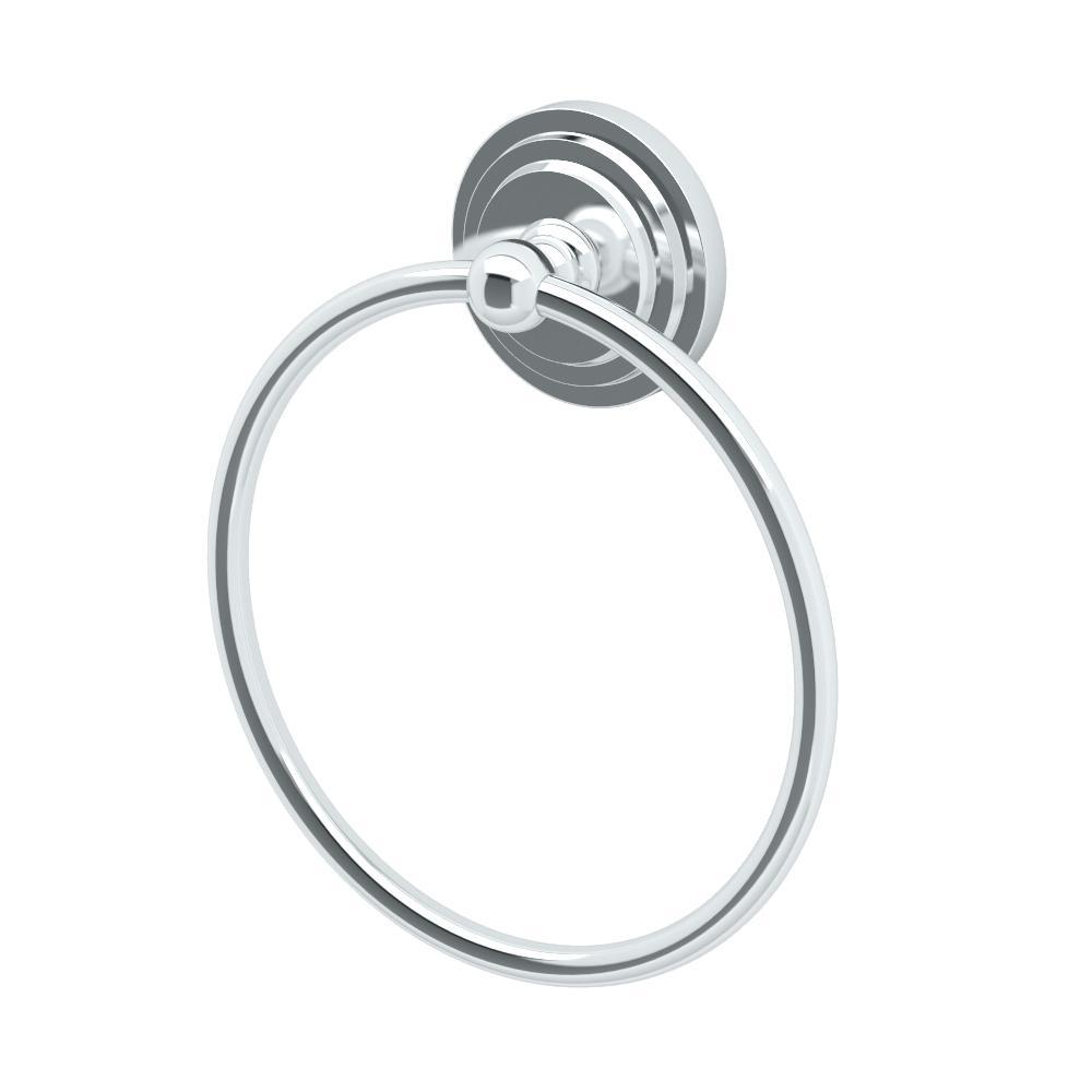 Marina Towel Ring in Chrome