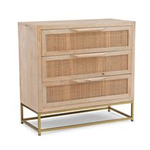Raphael Rattan Cabinet Three Drawers