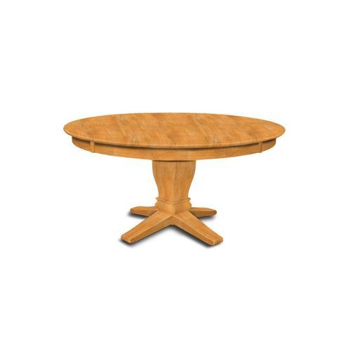 John Thomas Furniture - 60'' Table (top only) / 10'' Transitional Pedestal