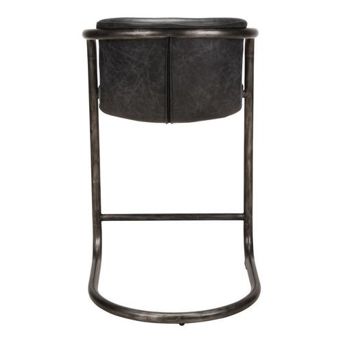 Moe's Home Collection - Freeman Counter Stool Antique Black-m2