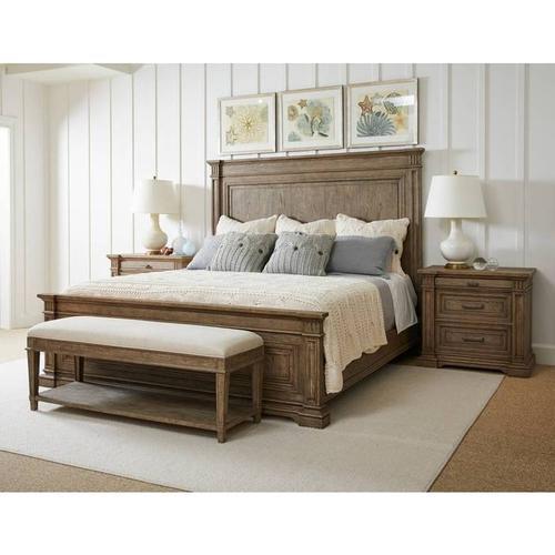 Portico Panel Bed - Drift / Queen