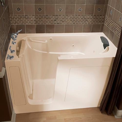 Premium Series 30x60-inch Walk-In Tub with Whirlpool Massage System  American Standard - Linen