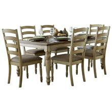 Dining Table, Solid Wood Top, Butterfly Leaf