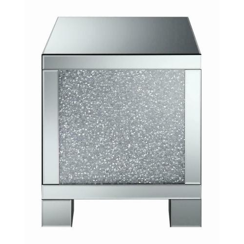 Contemporary Silver Side Table