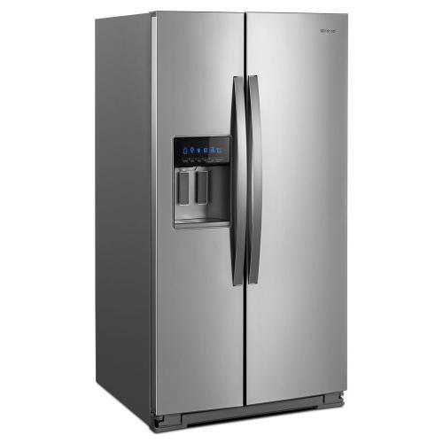 Whirlpool - 36-inch Wide Side-by-Side Refrigerator - 28 cu. ft.