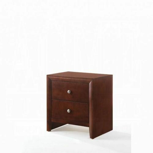 ACME Ilana Nightstand - 20403 - Brown Cherry