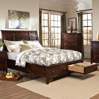 See Details - Jackson Sleigh Storage Bed