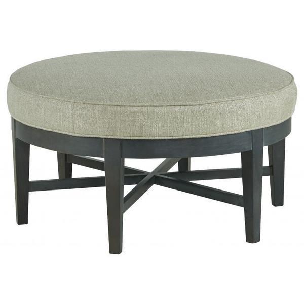 See Details - Plain Round Ottoman