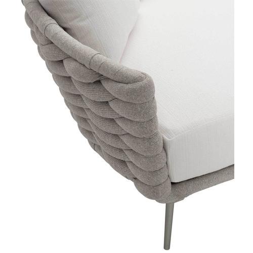 Bernhardt - Wailea Daybed in Knitted Sock Weave in Nordic Gray