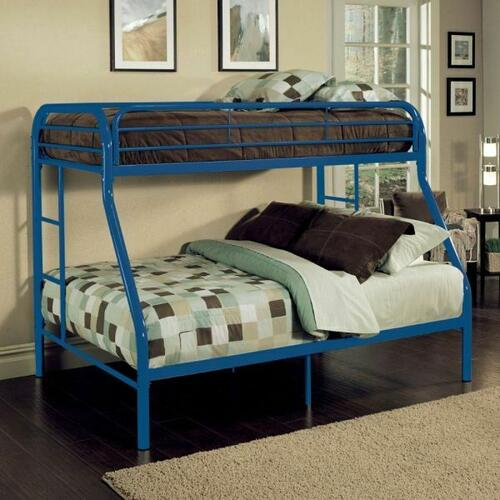 ACME Tritan Twin XL/Queen Bunk Bed - 02052BU - Blue