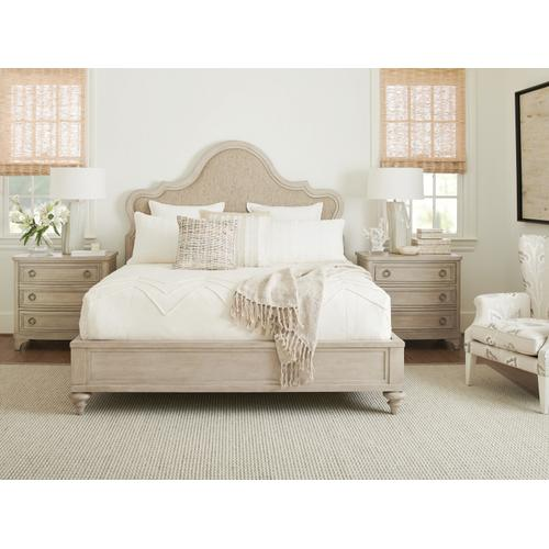 Zuma Upholstered Panel Bed California King Headboard