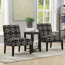 See Details - Fortuna Accent Table & Chair Set