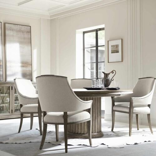 Gallery - Canyon Ridge Round Dining Table in Desert Taupe (397)