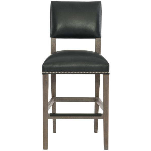 Moore Leather Counter Stool