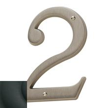 View Product - Satin Black House Number - 2