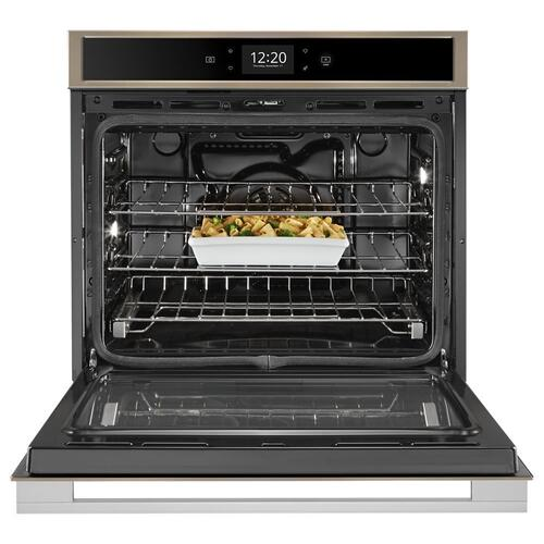 Whirlpool - 5.0 cu. ft. Smart Single Wall Oven with True Convection Cooking