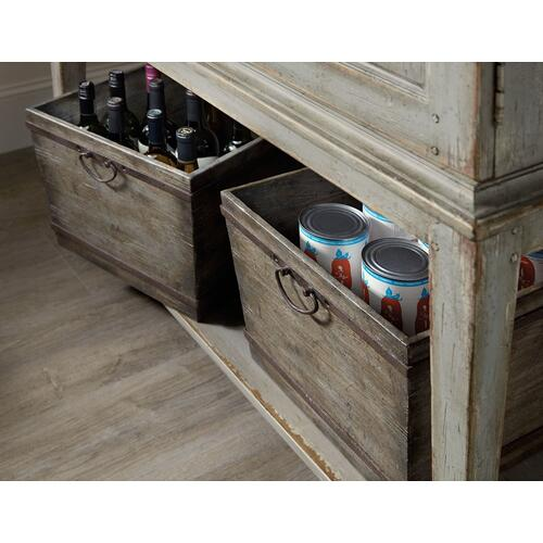 Dining Room Alfresco Vino della Vita Vintners Cabinet