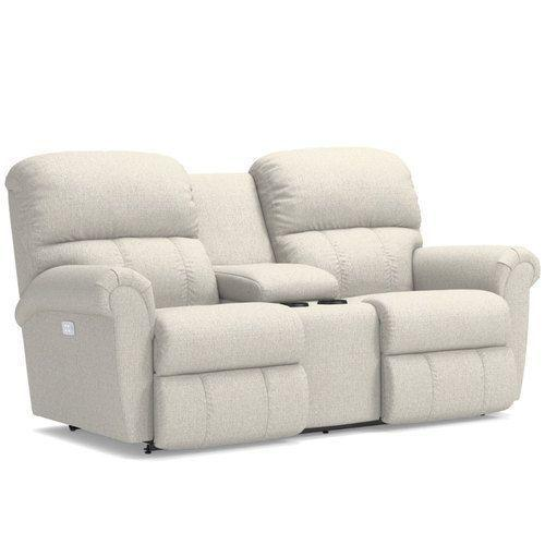 Briggs Power Reclining Loveseat w/ Headrest & Console