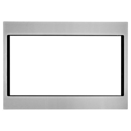 Whirlpool - 27 in. Trim Kit for Countertop Microwaves