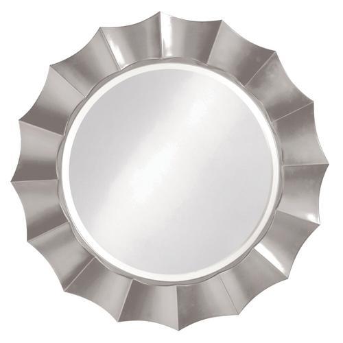 Howard Elliott - Corona Mirror - Glossy Nickel