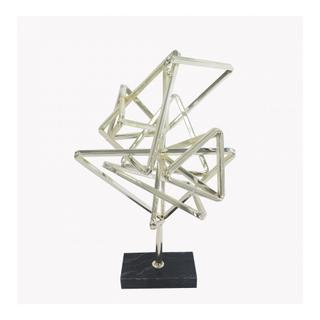 Geometry Decor Silver