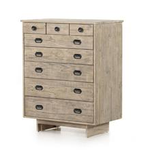 See Details - Weathered Wheat Finish Freel Chest