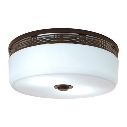 Broan® 80 CFM Decorative Exhaust Fan Light, Oil-Rubbed Bronze Finish, ENERGY STAR®