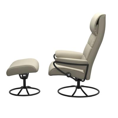See Details - Stressless® London Original High back Chair with Ottoman