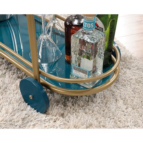 Sauder - Bar Cart