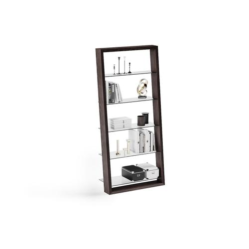 BDI Furniture - Eileen 5156 Leaning Shelf in Charcoal Stained Ash