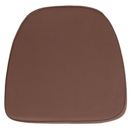 Alamont Furniture - Soft Brown Fabric Chiavari Chair Cushion