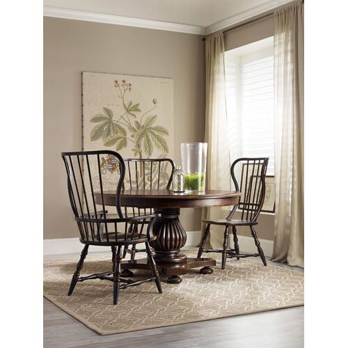 Dining Room Sanctuary Spindle Arm Chair - 2 per carton/price ea