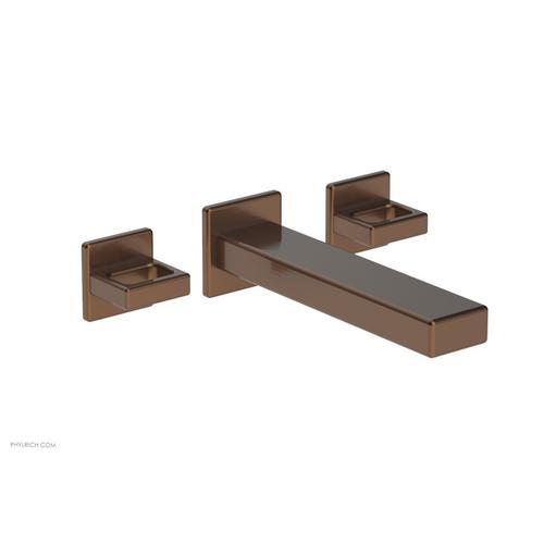 MIX Wall Lavatory Set - Ring Handles 290-13 - Antique Copper
