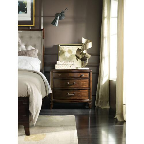 Bedroom Palisade Three Drawer Nightstand