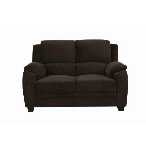 Coaster - Northend Casual Chocolate Loveseat