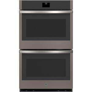 "GE® 30"" Smart Built-In Self-Clean Convection Double Wall Oven with Never Scrub Racks Product Image"