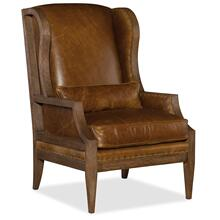 View Product - Laurel Laurel Exposed Wood Club Chair
