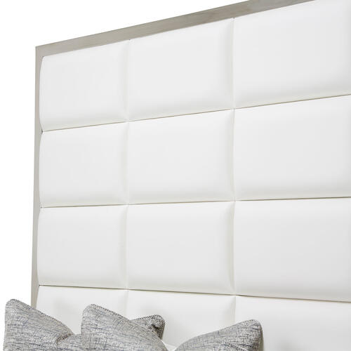 Amini - Cal King Metal Panel Bed (3 Pc)