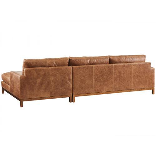 Horizon Leather Sofa Chaise