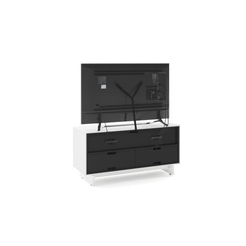 BDI Furniture - Align 7478 Media + Storage Console in Satin White Media Base