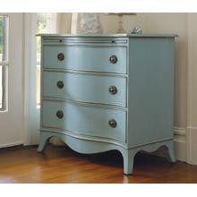 Harkers Island Serpentine Chest W/ Pullout Slide