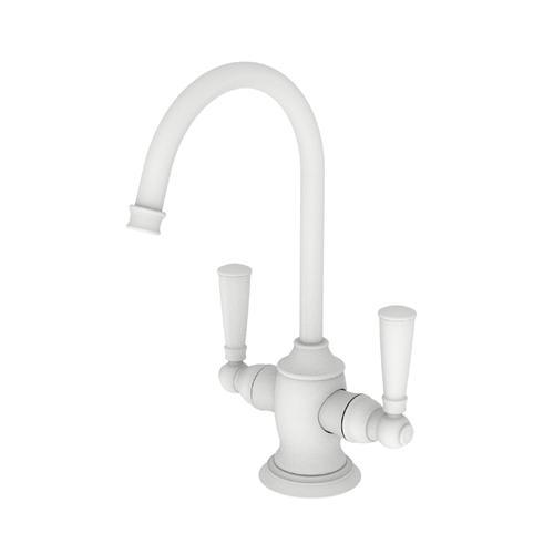 Matte White Hot & Cold Water Dispenser
