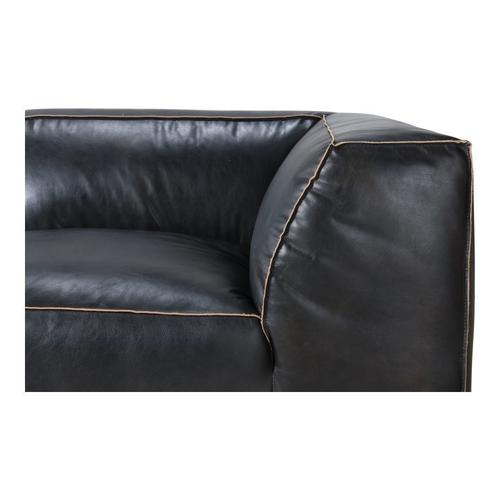 Moe's Home Collection - Luxe Corner Chair Antique Black