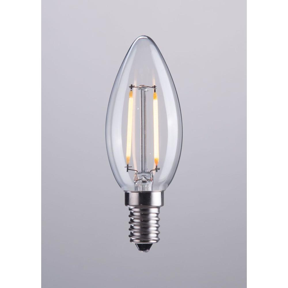 See Details - E12 Type B 2w Led 98 X 35 Mm Clear