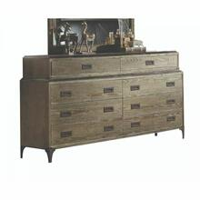 ACME Athouman Dresser - 23925 - Weathered Oak